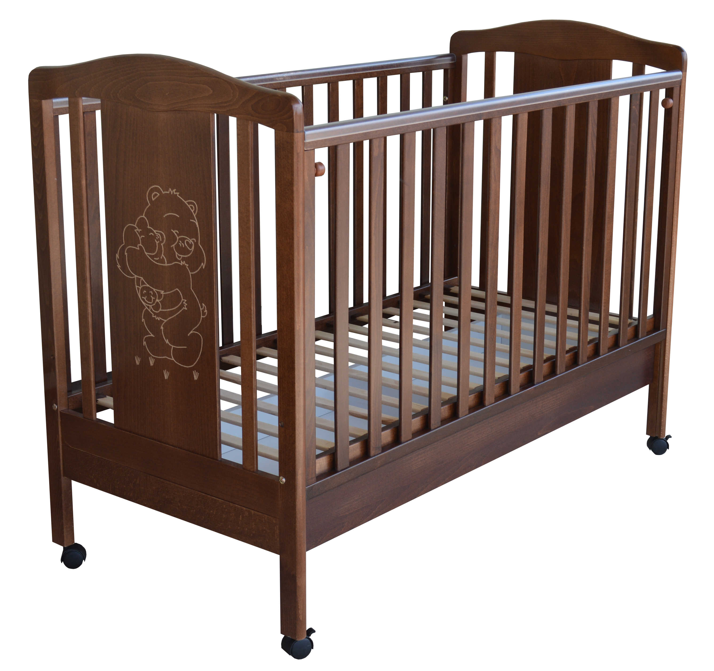 Amare Brown Cot