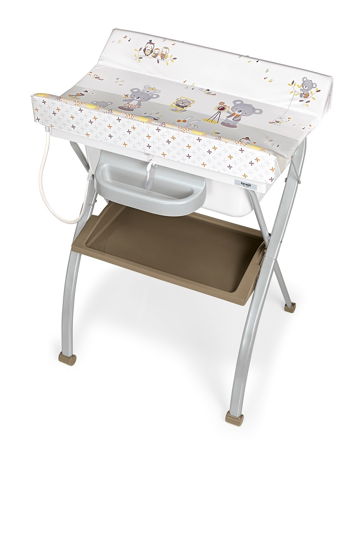 Bath Time Lindo Nappy Changer Inc Bath Col 671