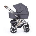 Diamond carry cot extendable canopy