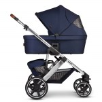 Salsa 4 Navy Carrycot Ext canopy