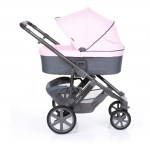 Salsa 4 rose carry cot extendable canopy